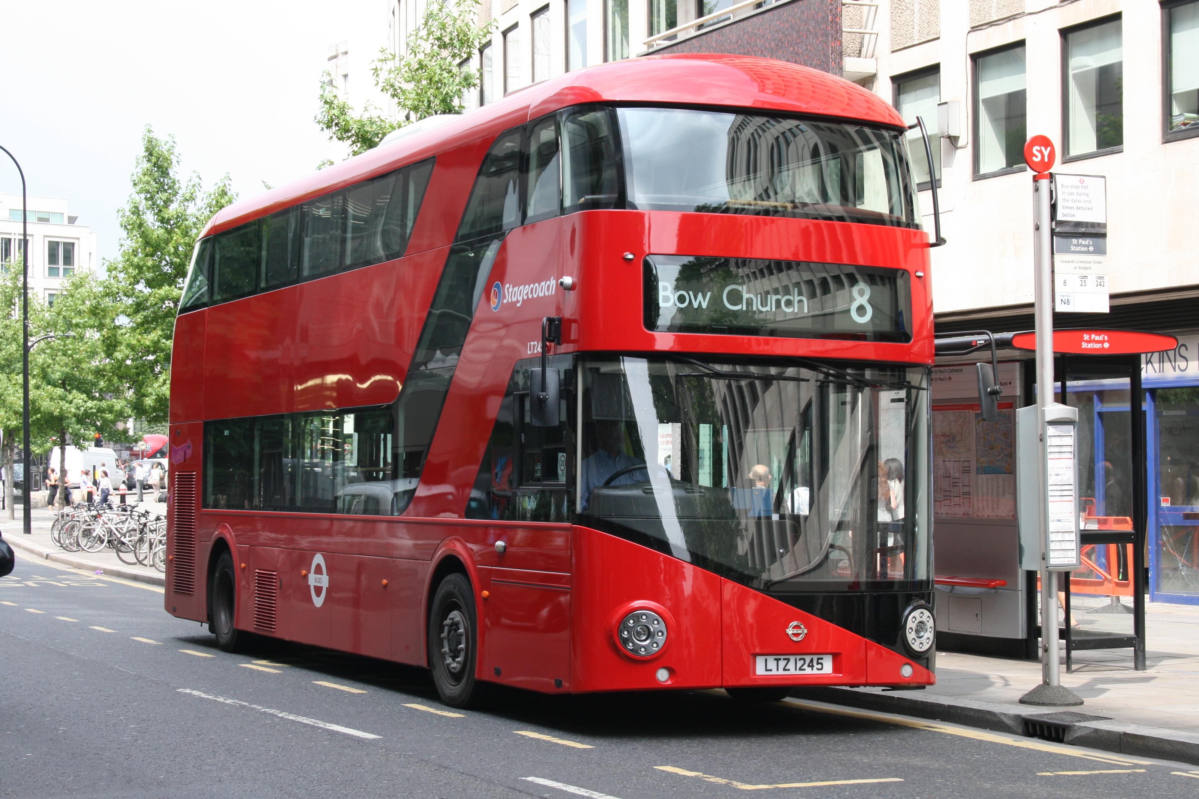 File Stagecoach East London Bus Lt245  Ltz 1245   Route 8  21 July 2014 Jpg