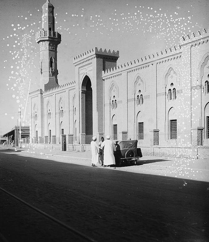 sudan omdurman main mosque main entrance 1936.jpg