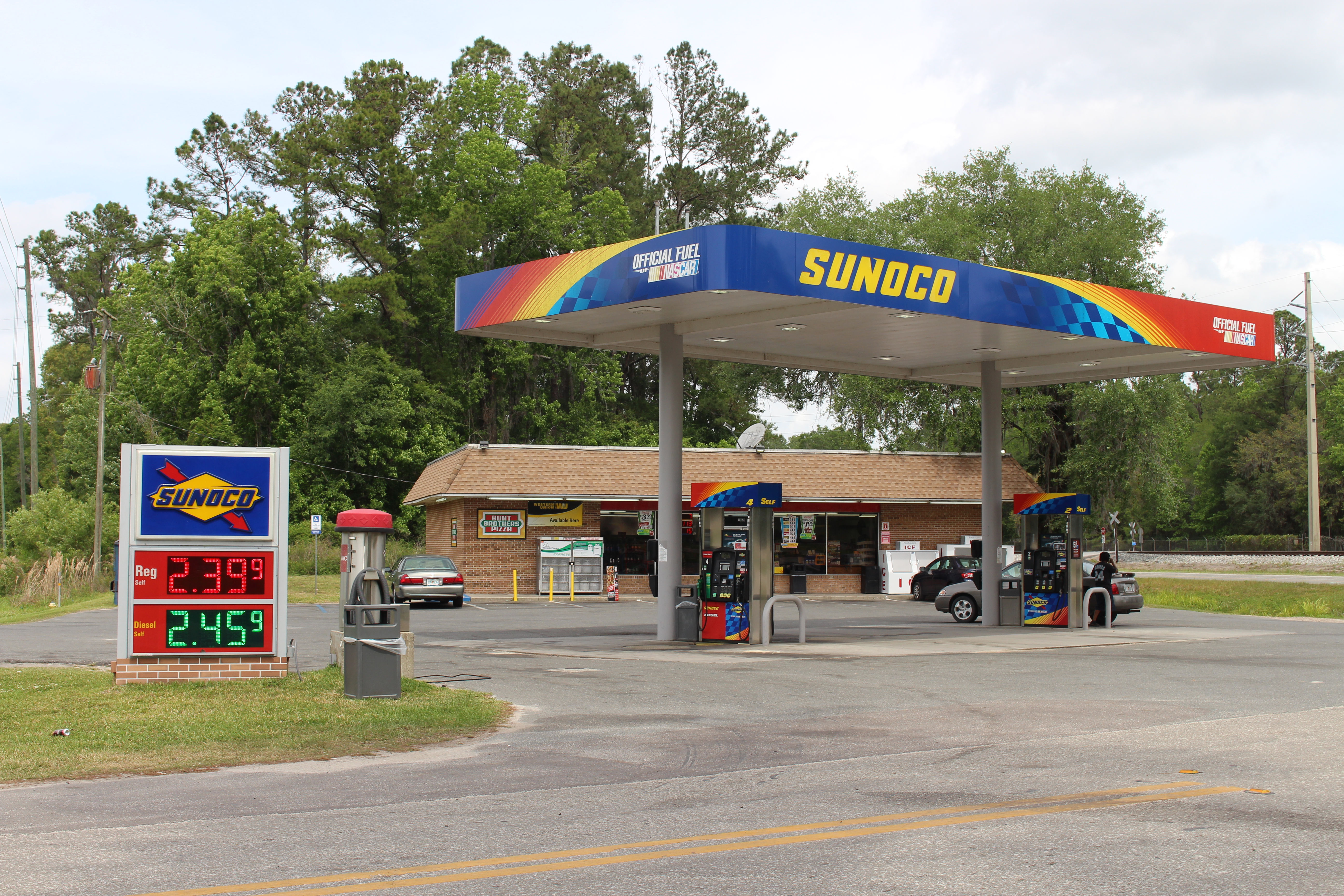 Sunoco Gas Station Near Me >> File Sunoco Gas Station Us441 Alachua Jpg Wikimedia Commons