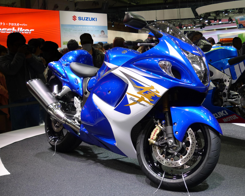 File:Suzuki Hayabusa At Tokyo Motor Show 2013 1