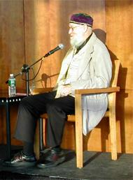 Terry Riley, au Lincoln Center in 2004