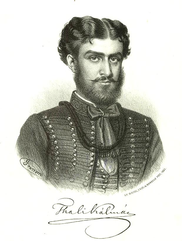 Thaly Kálmán, litográfia, Grimm Vince