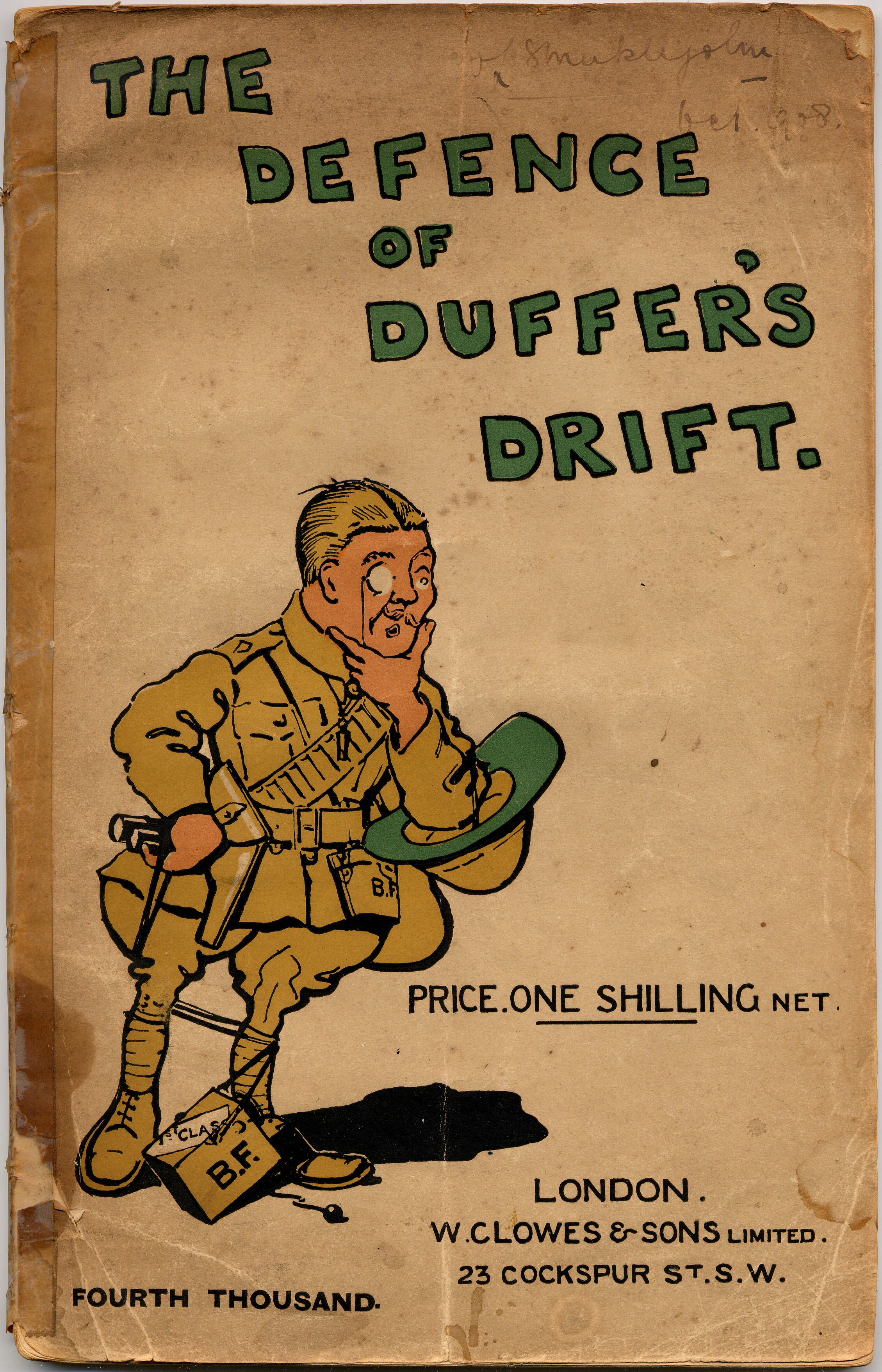 the defence of duffers drift analysis