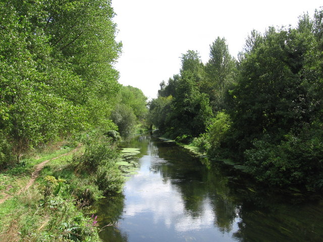 The Little Ouse at Santon Downham - geograph.org.uk - 306816