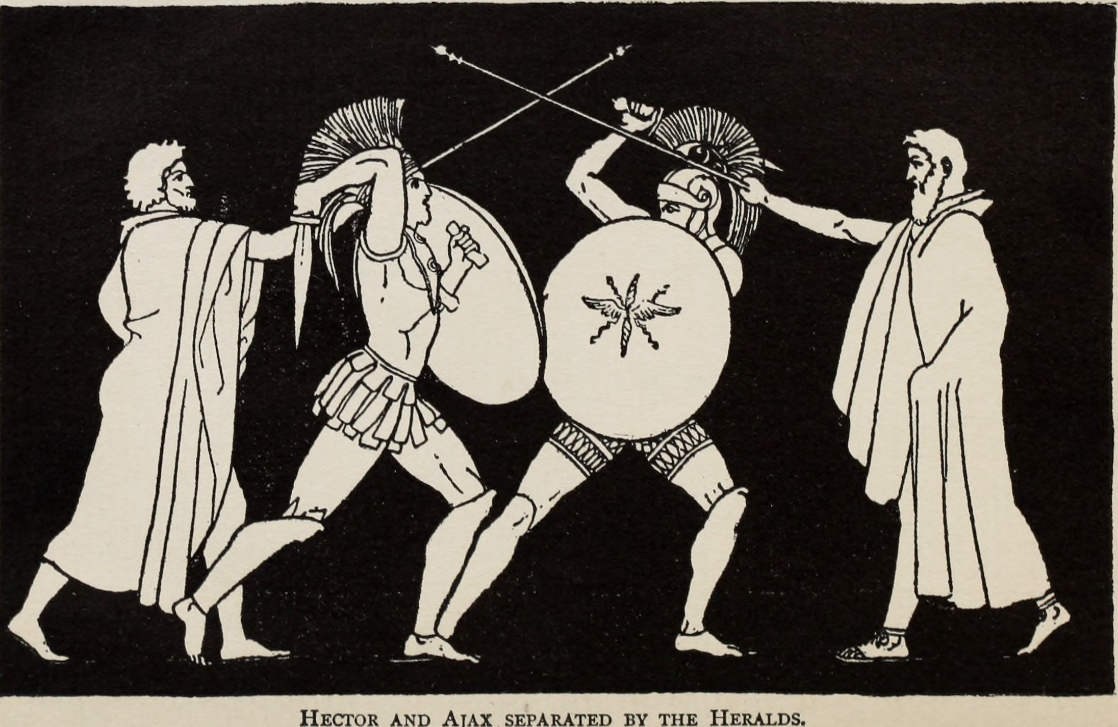 an analysis of the character of ajax in homers iliad The iliad: book 9 analysis homer characters archetypes sparknotes bookrags the meaning summary overview critique of explanation online education meaning metaphors symbolism characterization itunes.
