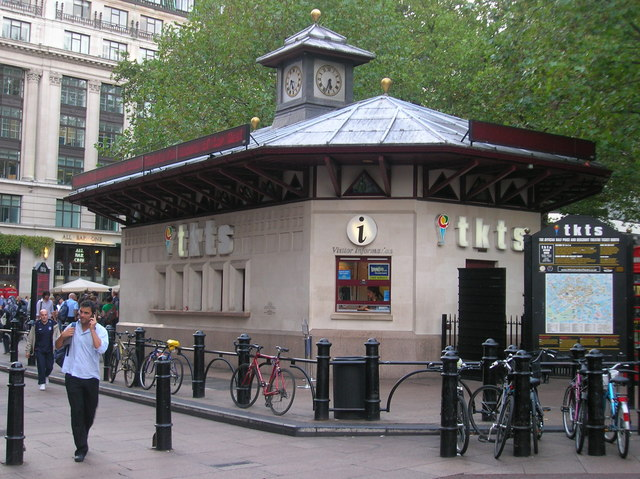 File:Ticket Booth, Leicester Square W1 - geograph.org.uk - 1284462.jpg