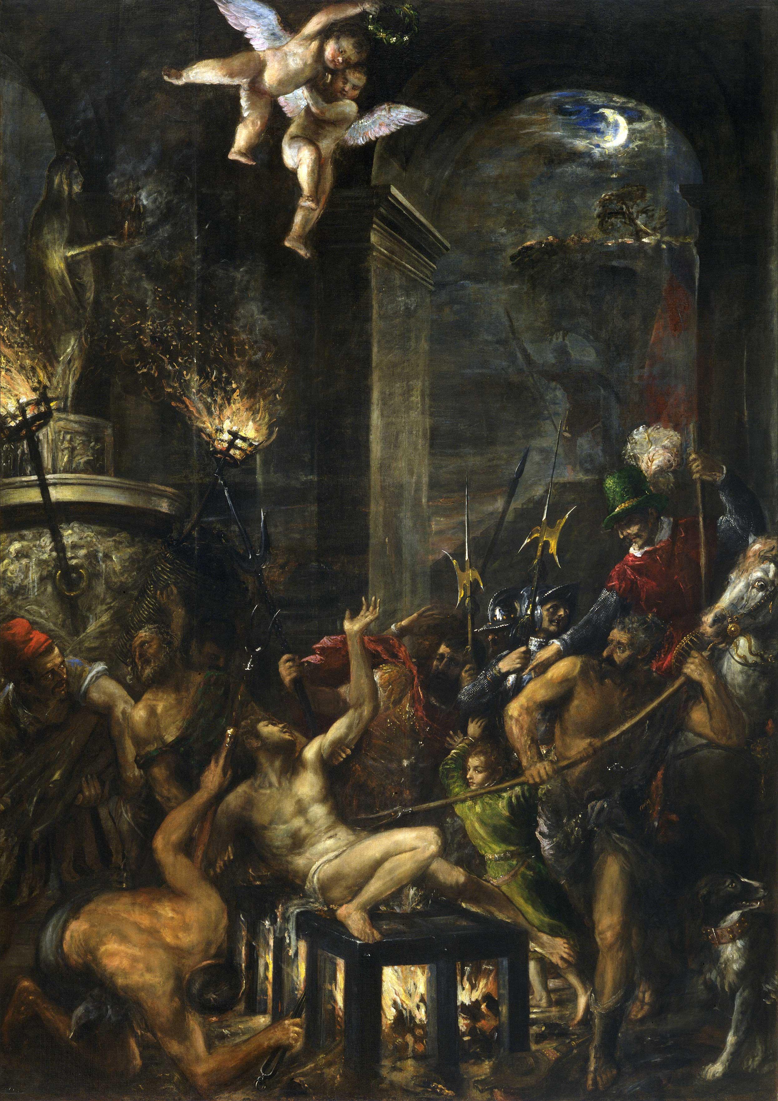 Tizian, Das Martyrium des Hl. Laurentius (1567),