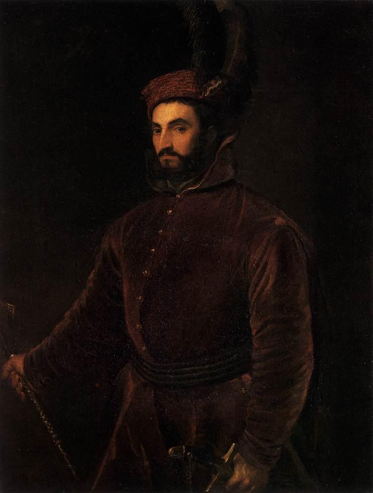 Renaissance Painting Young Boy S Head Biblical Brown Robe