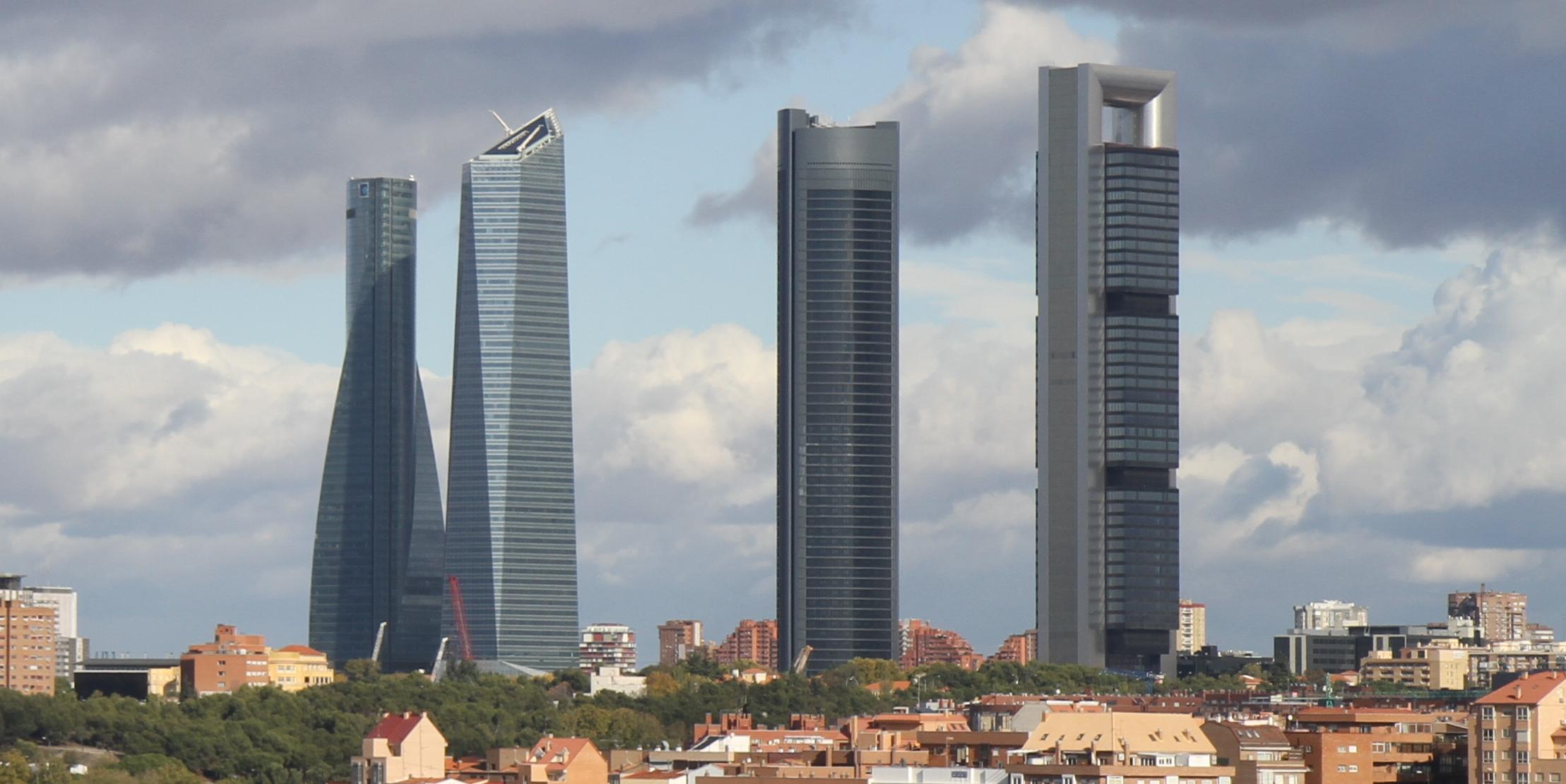Anexo edificios m s altos de madrid wikiwand for Gimnasio 4 torres