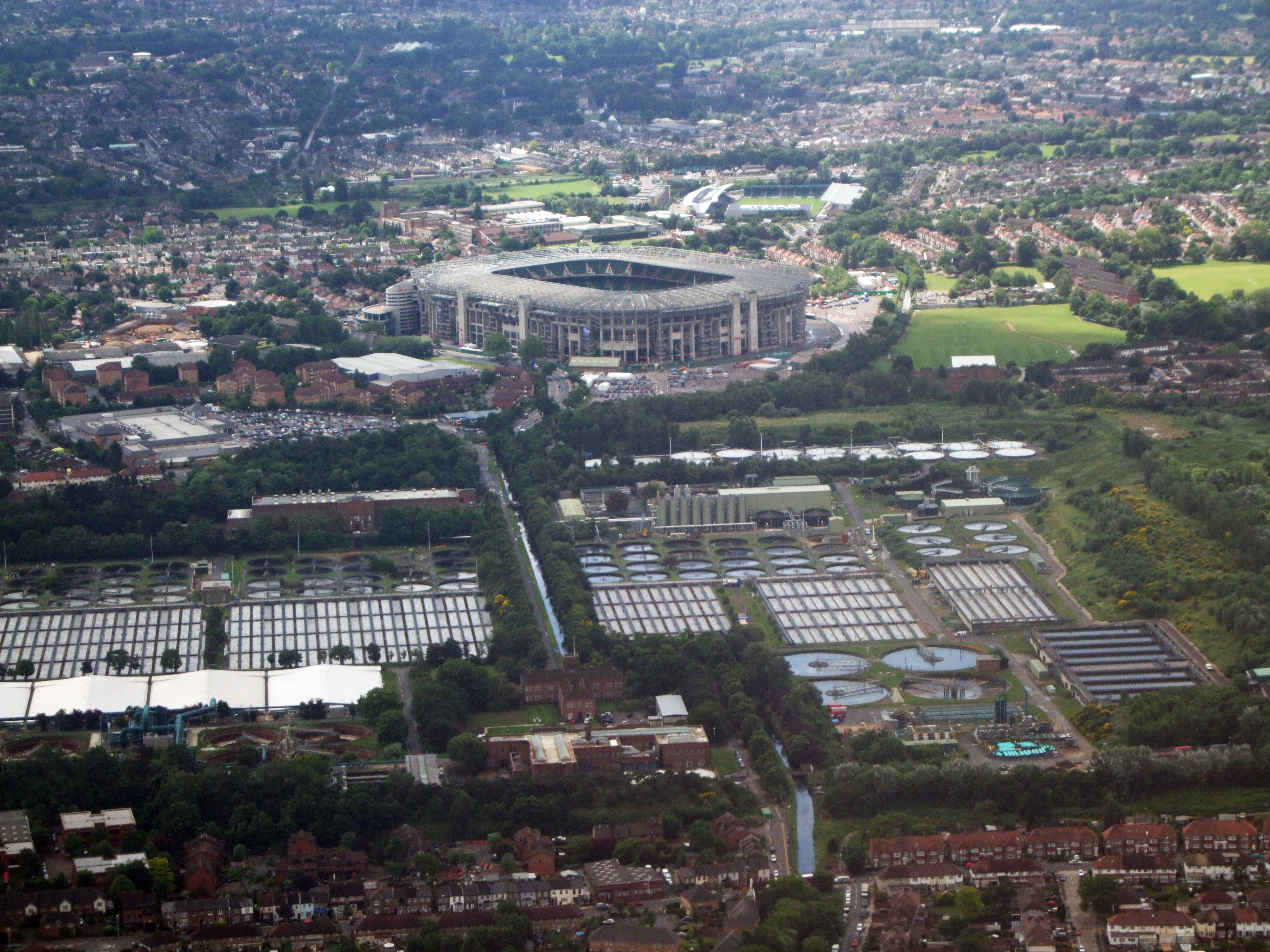 Twickenham Stadium History Twickenham Stadium Aerial Jpg