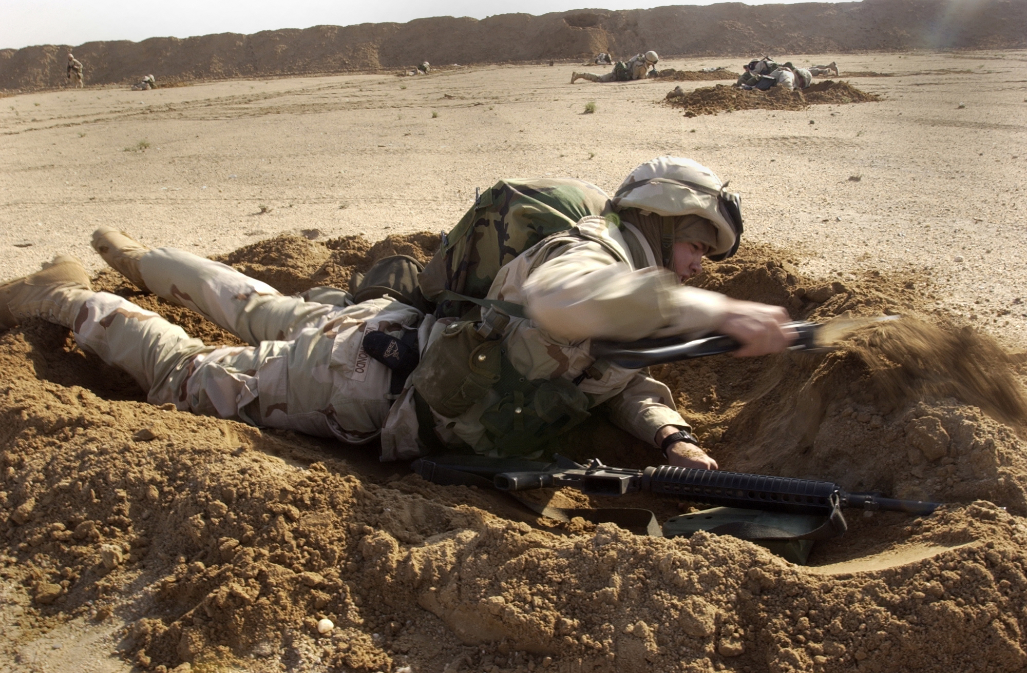 Image result for infantry scrape