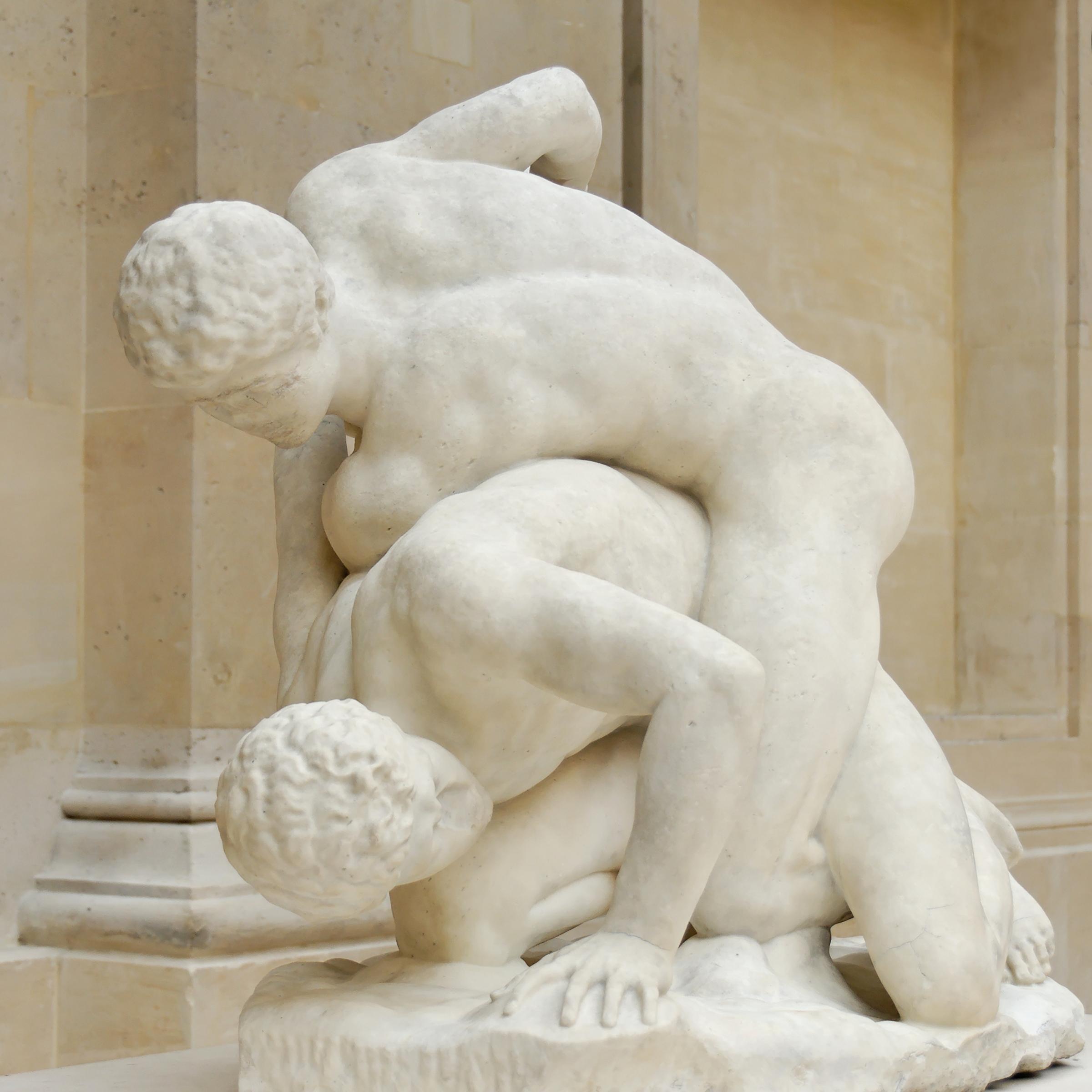 Resultado de imagen de lucha griega