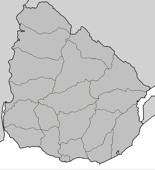 FileUruguay Mappng Wikimedia Commons - Uruguay blank map