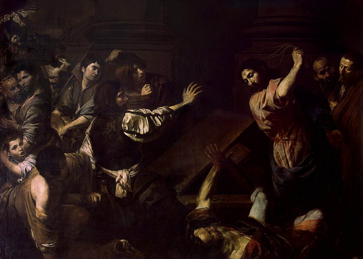File:Valentin De Boulogne   Expulsion Of The Money Changers From The Temple