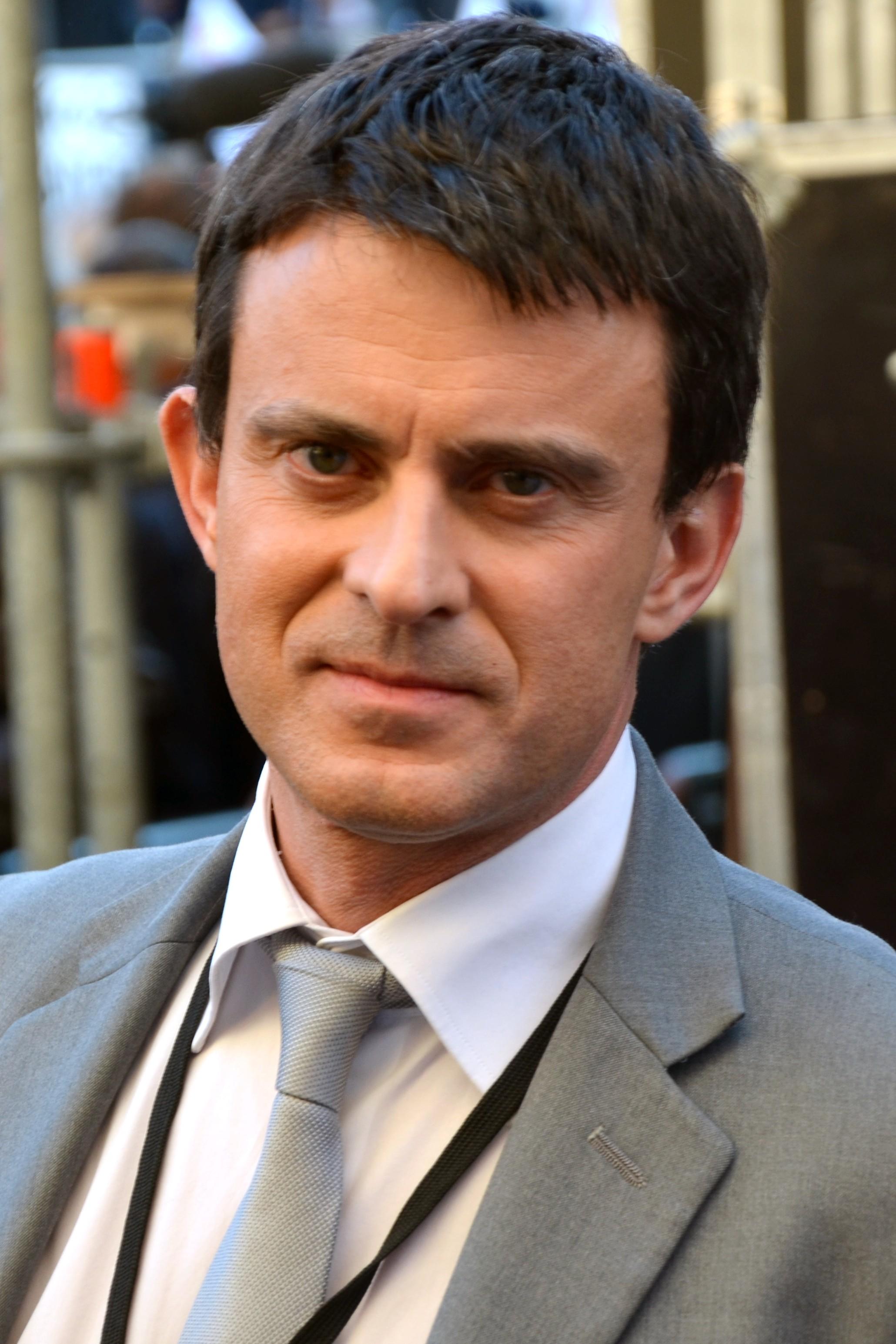 Manuel Valls Größe