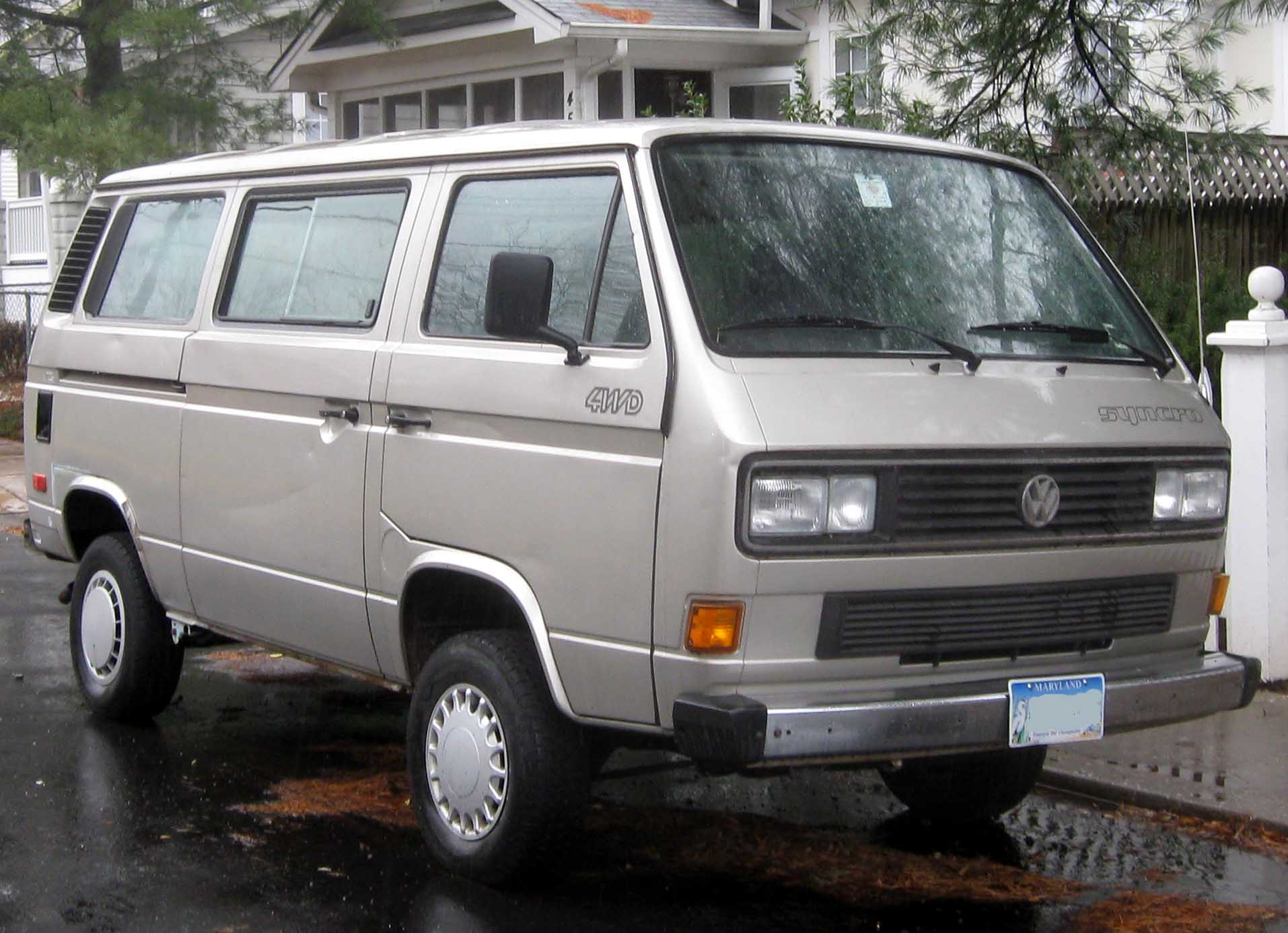 File Volkswagen Vanagon Syncro Jpg Wikimedia Commons