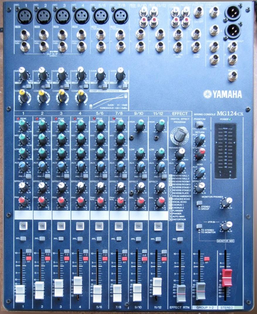 Mixer Yamaha Cx