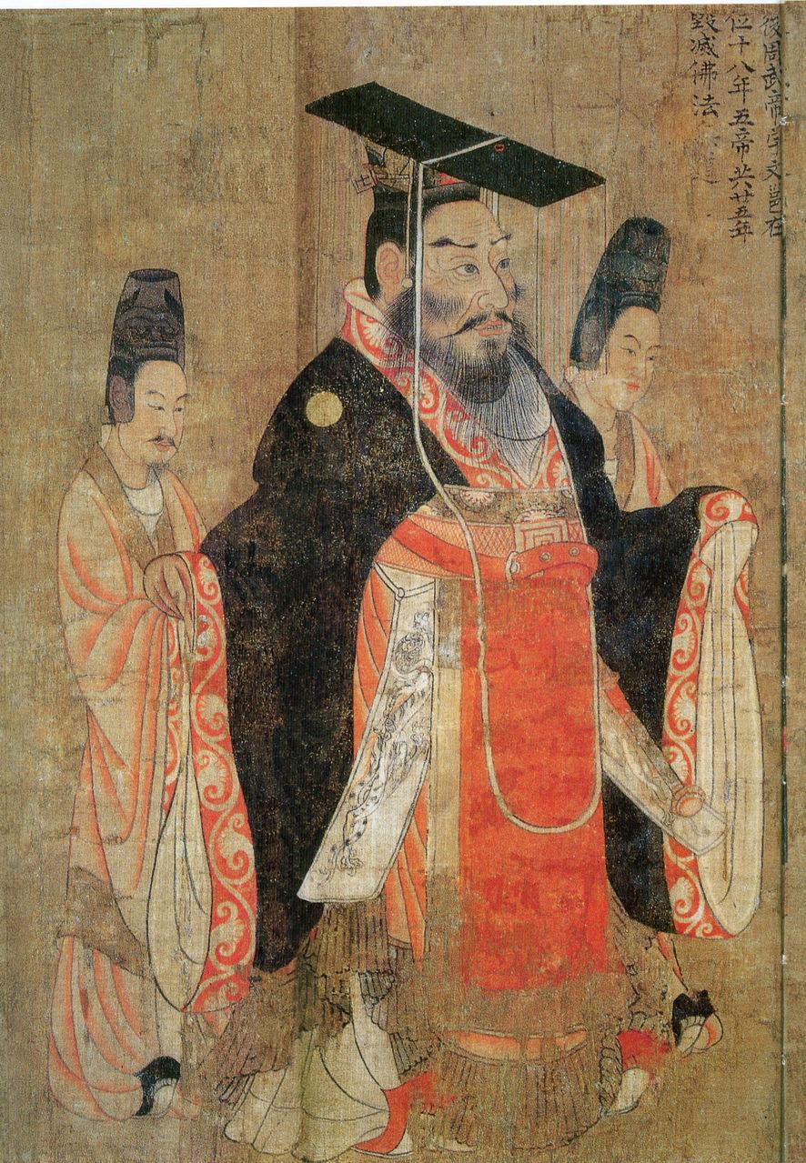 Sui dynasty 589 618 ad chinese history digest for Dynasty mural works