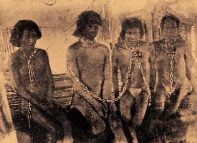 esclavos indigenas explotacion del caucho