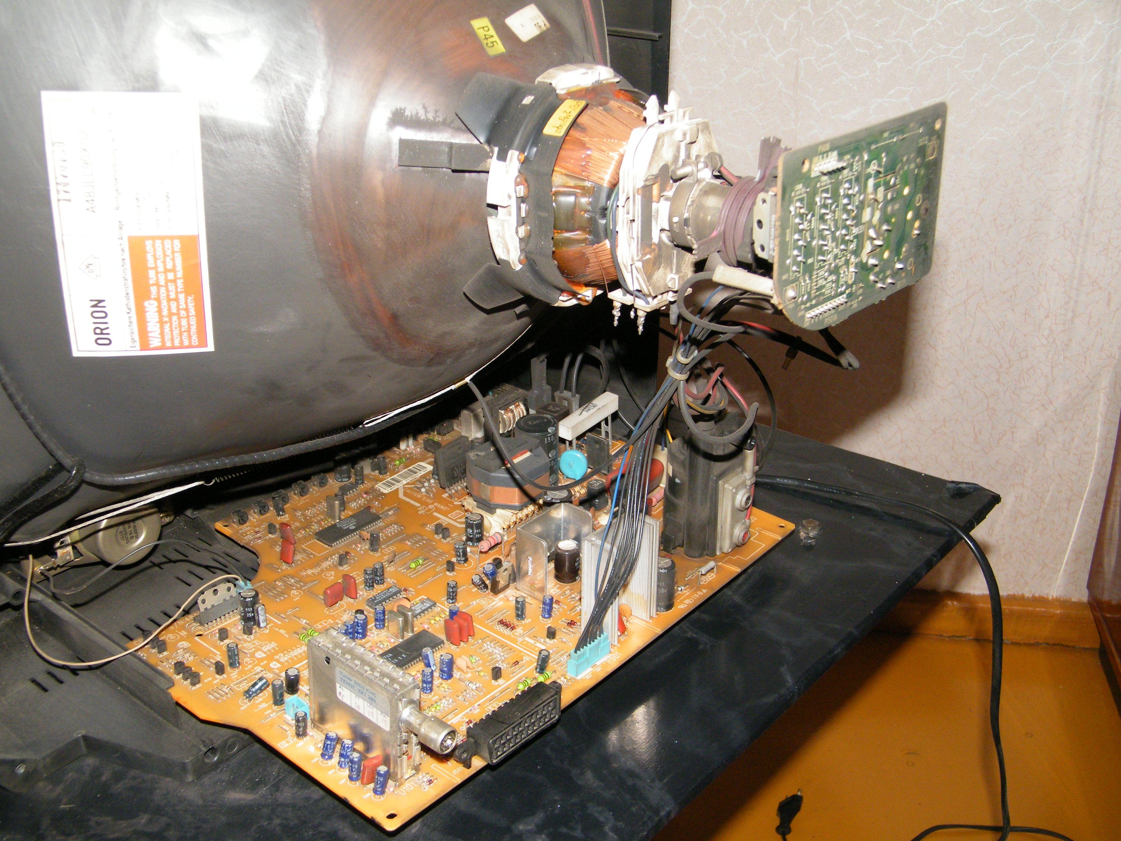 фото внутренностей старого монитора рецепт