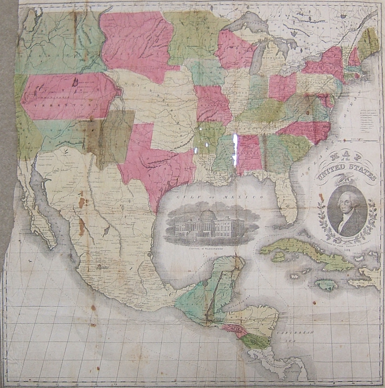 File1854 Map of USA Mexicojpg Wikimedia Commons – Map of Usa and Mexico