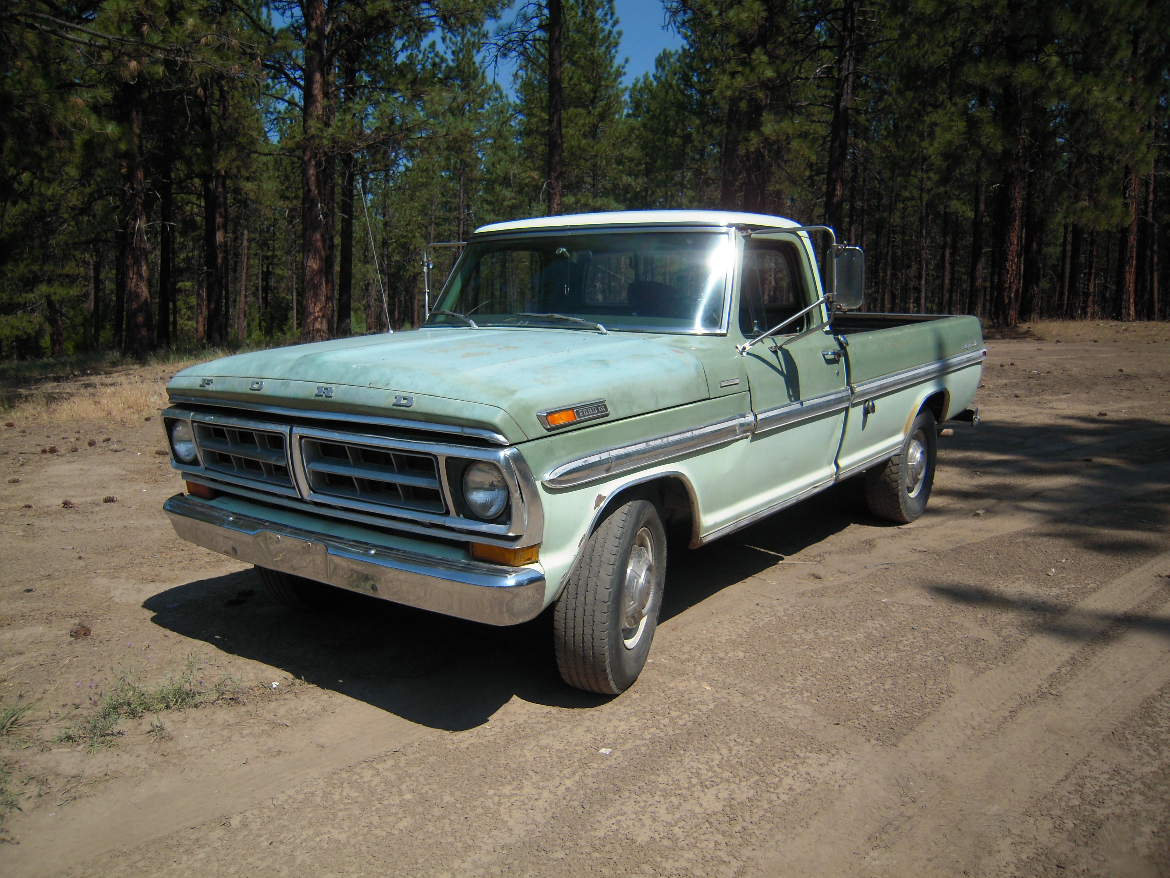 1970 Ford F-250 Camper Special