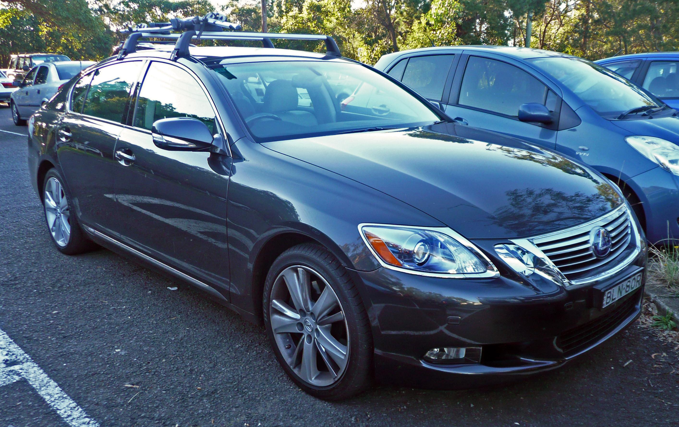 File:2009-2010 Lexus GS 450h (GWS191R) sedan 01.jpg - Wikimedia Commons