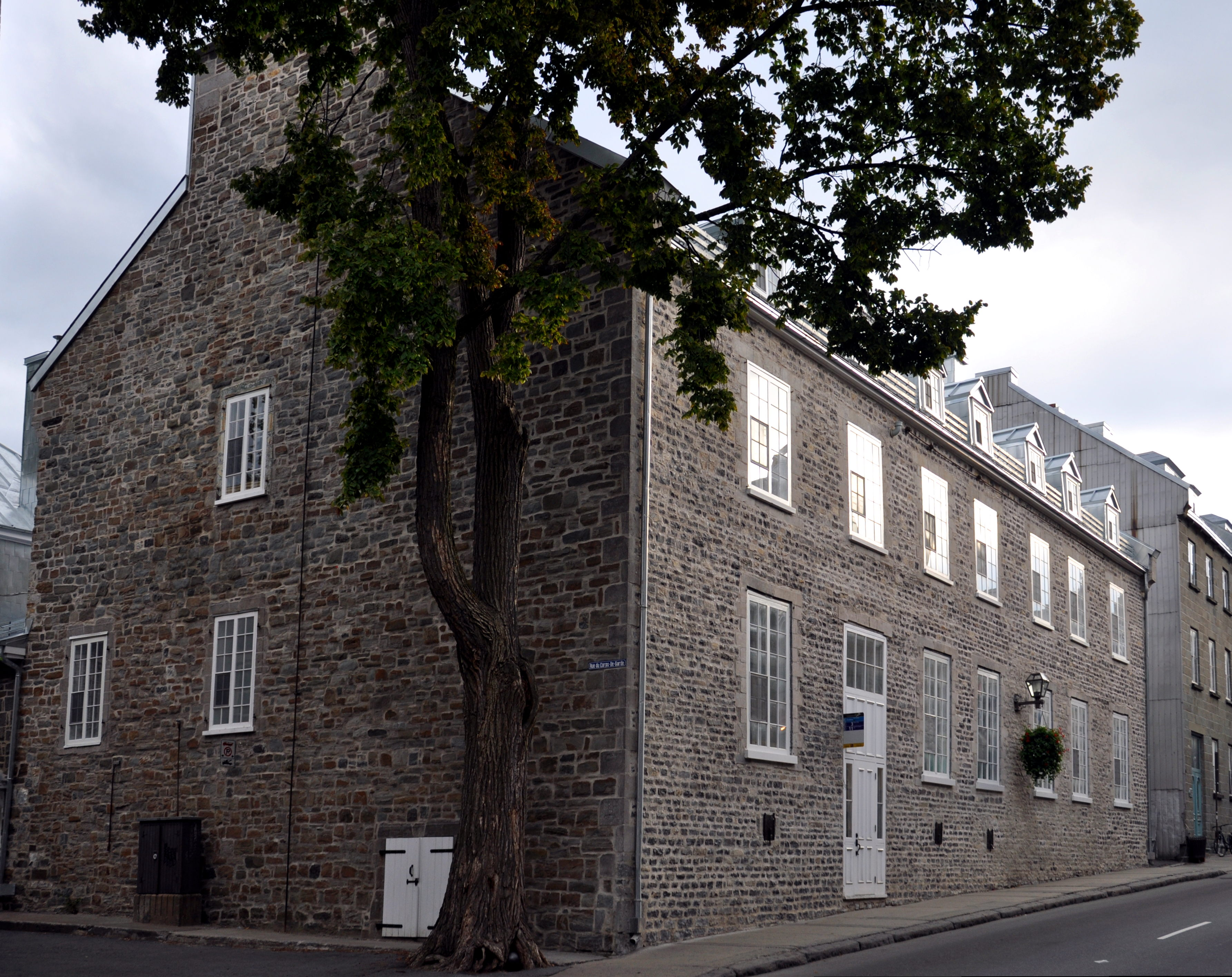 18Th Century House the maison péan, an 18th century house in quebec city. | colonial