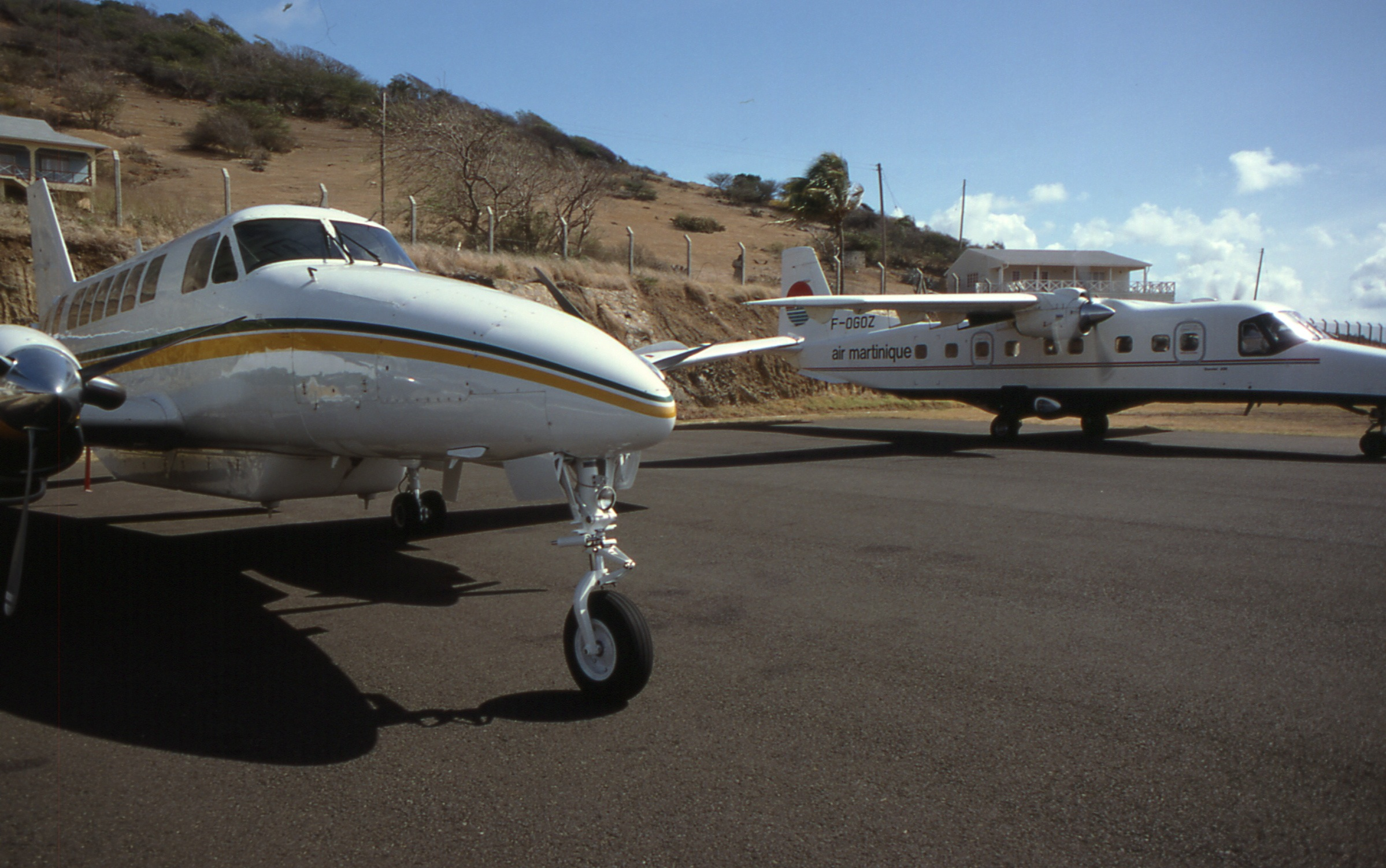 File Union Island Beech 99 Helenair N899ca Und Air Martinique F Ogoz