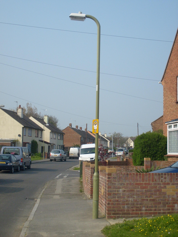 Filea British Neighbourhood Watch Sign Affixed To A Lamppostjpg