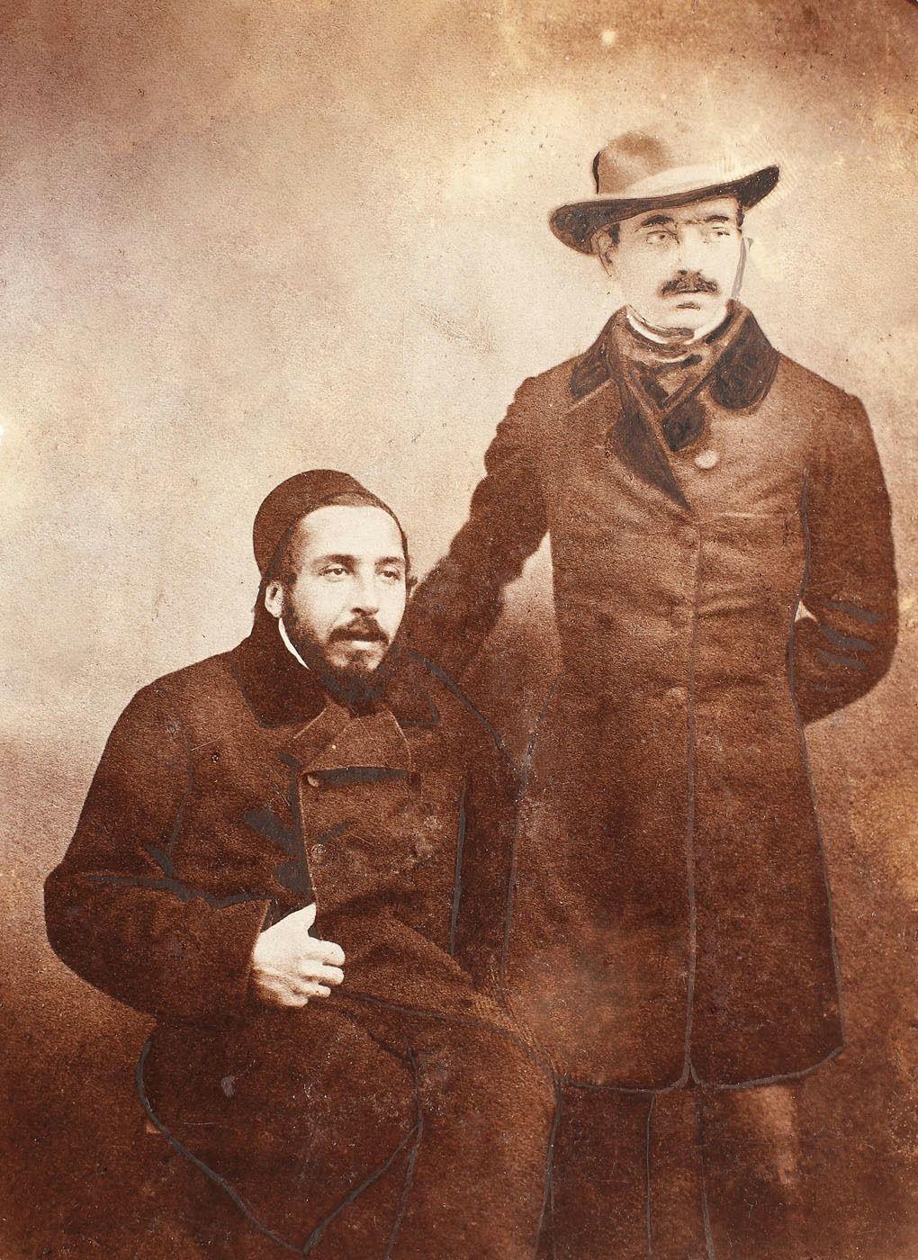 Alecsandri and Ghica in Istanbul, 1855.jpeg