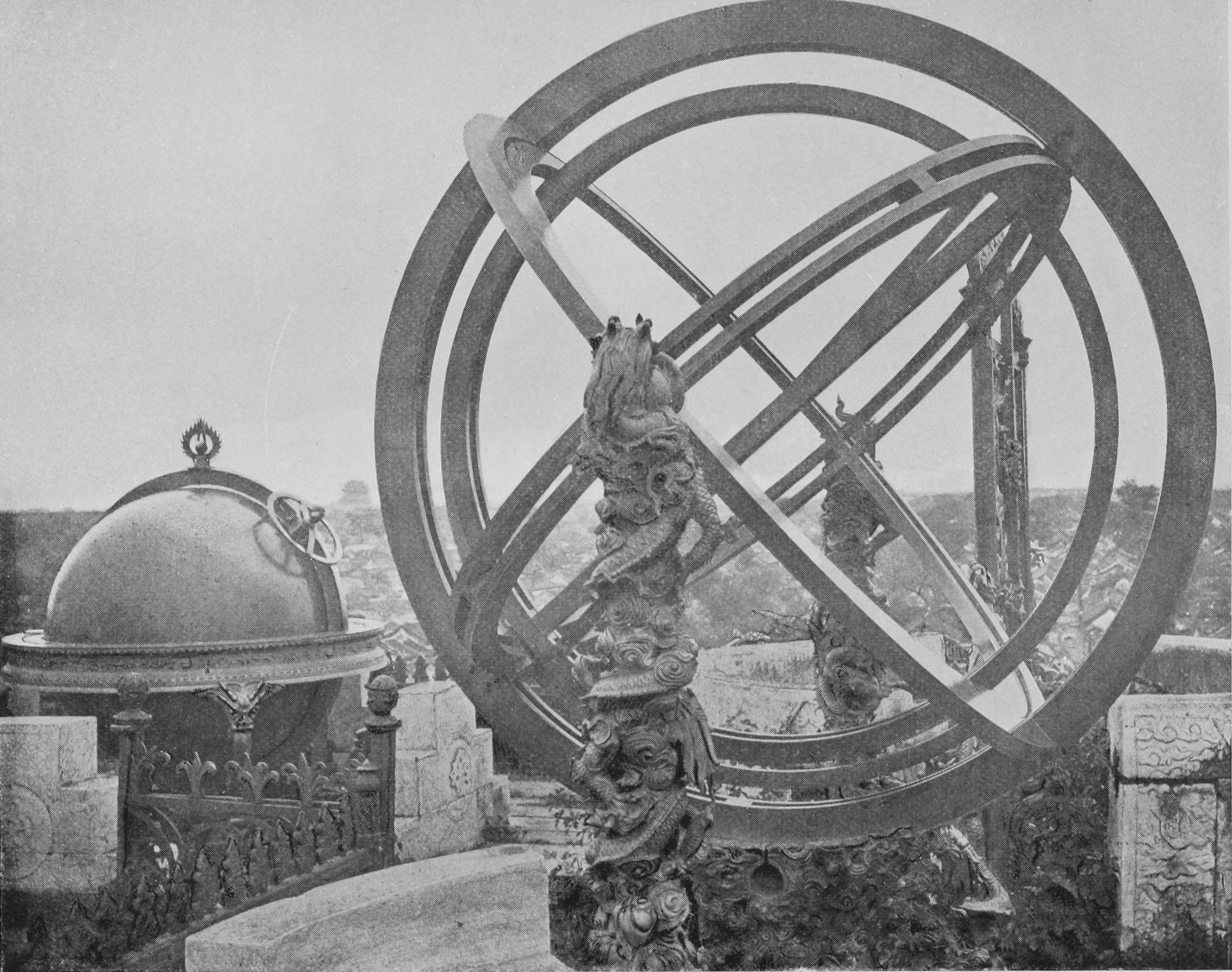 File:Ancient Astronomical Instruments on the Wall of ...