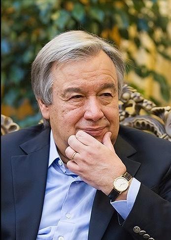 第9代事務総長・アントニオ・グテーレス