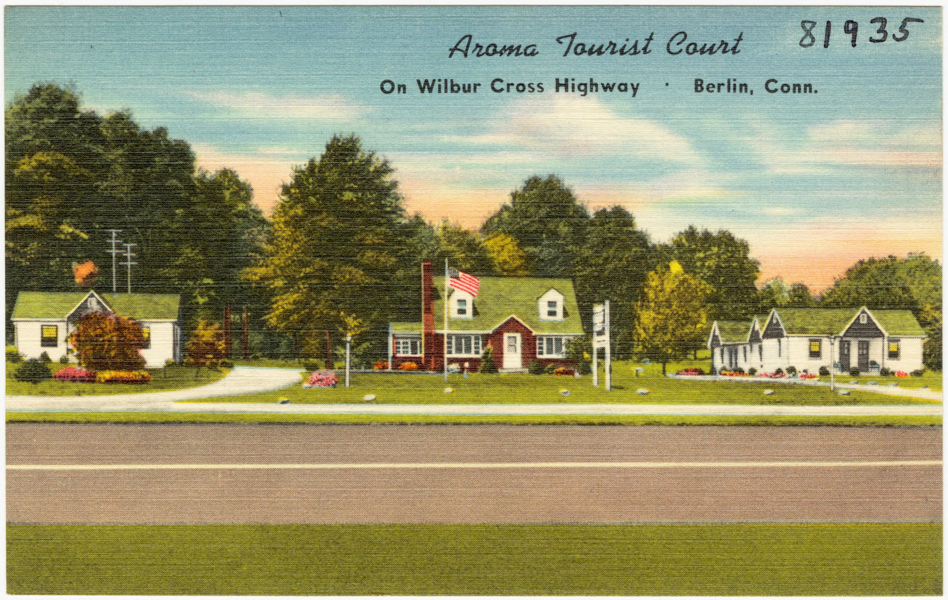 Aroma Berlin file aroma tourist court on wilbur cross highway berlin conn