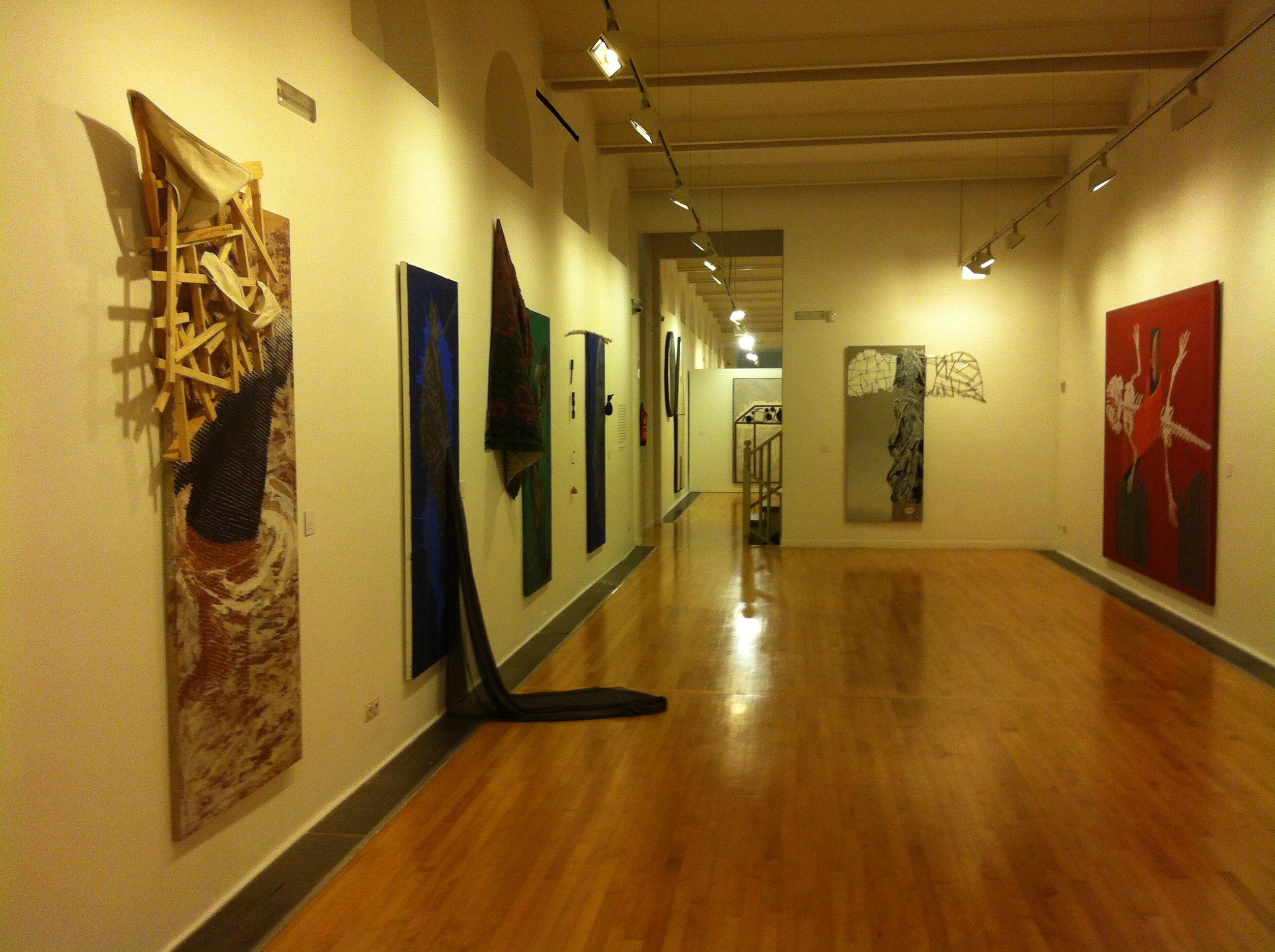 Artur Heras en el Museu d'Art de Sabadell