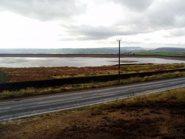 Ashworth Moor Reservoir, near Rochdale - geograph.org.uk - 870273