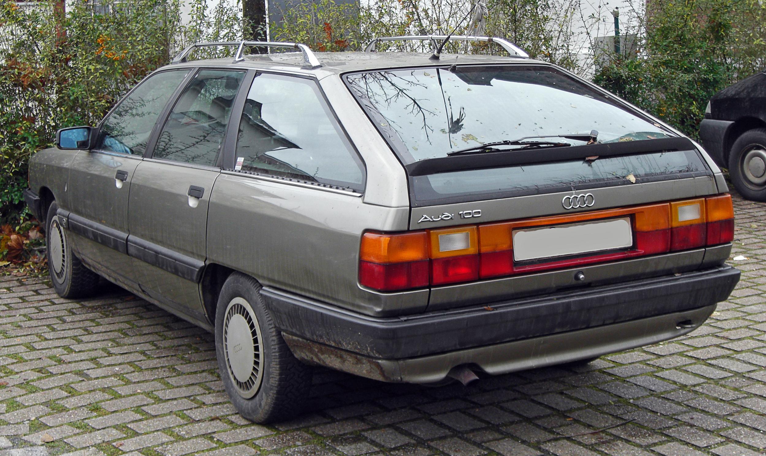 File Audi 100 C3 Avant 1982 1990 Rear Mj Jpg Wikimedia