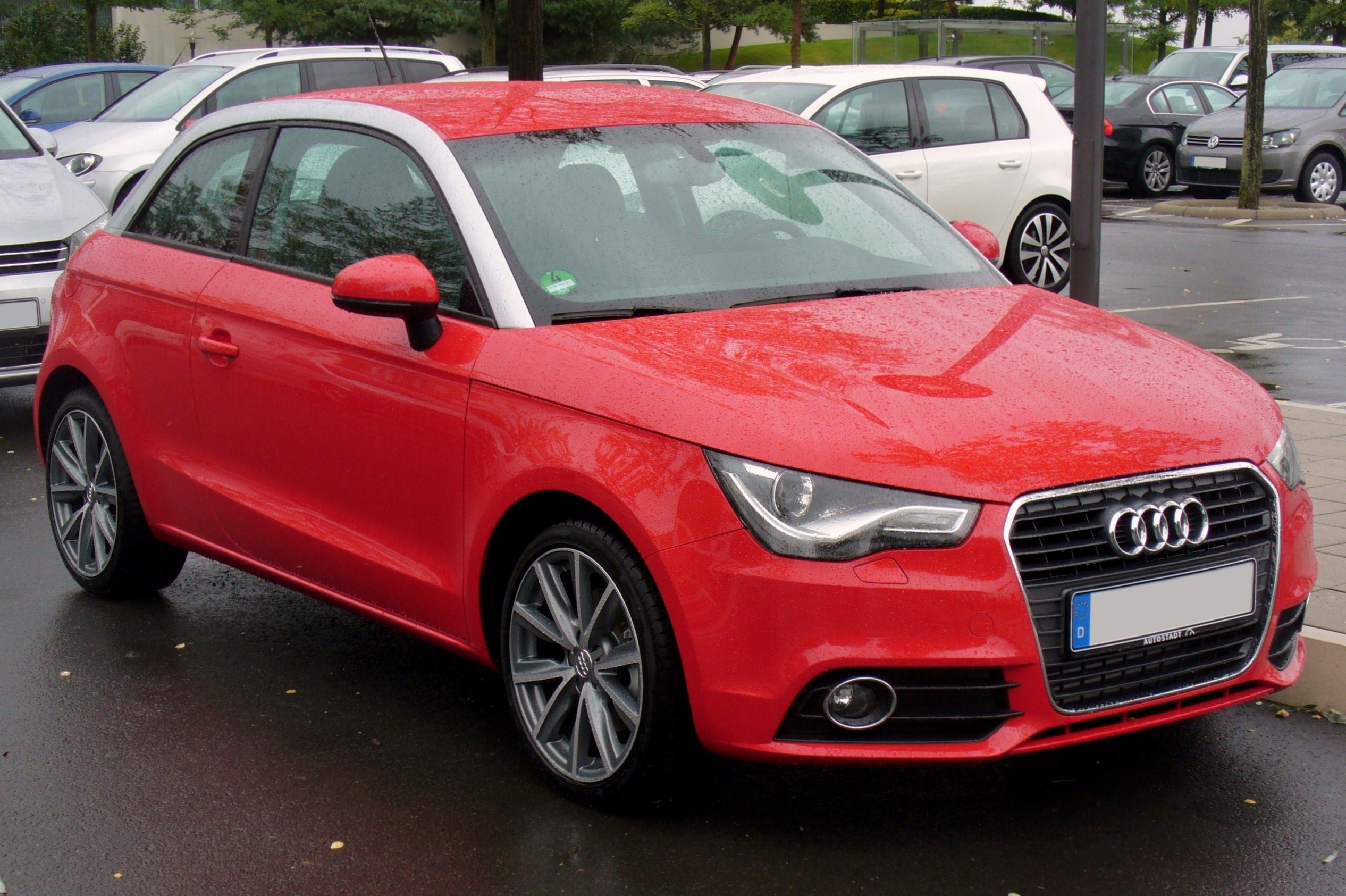 file audi a1 1 6 tdi ambition misanorot jpg wikimedia. Black Bedroom Furniture Sets. Home Design Ideas