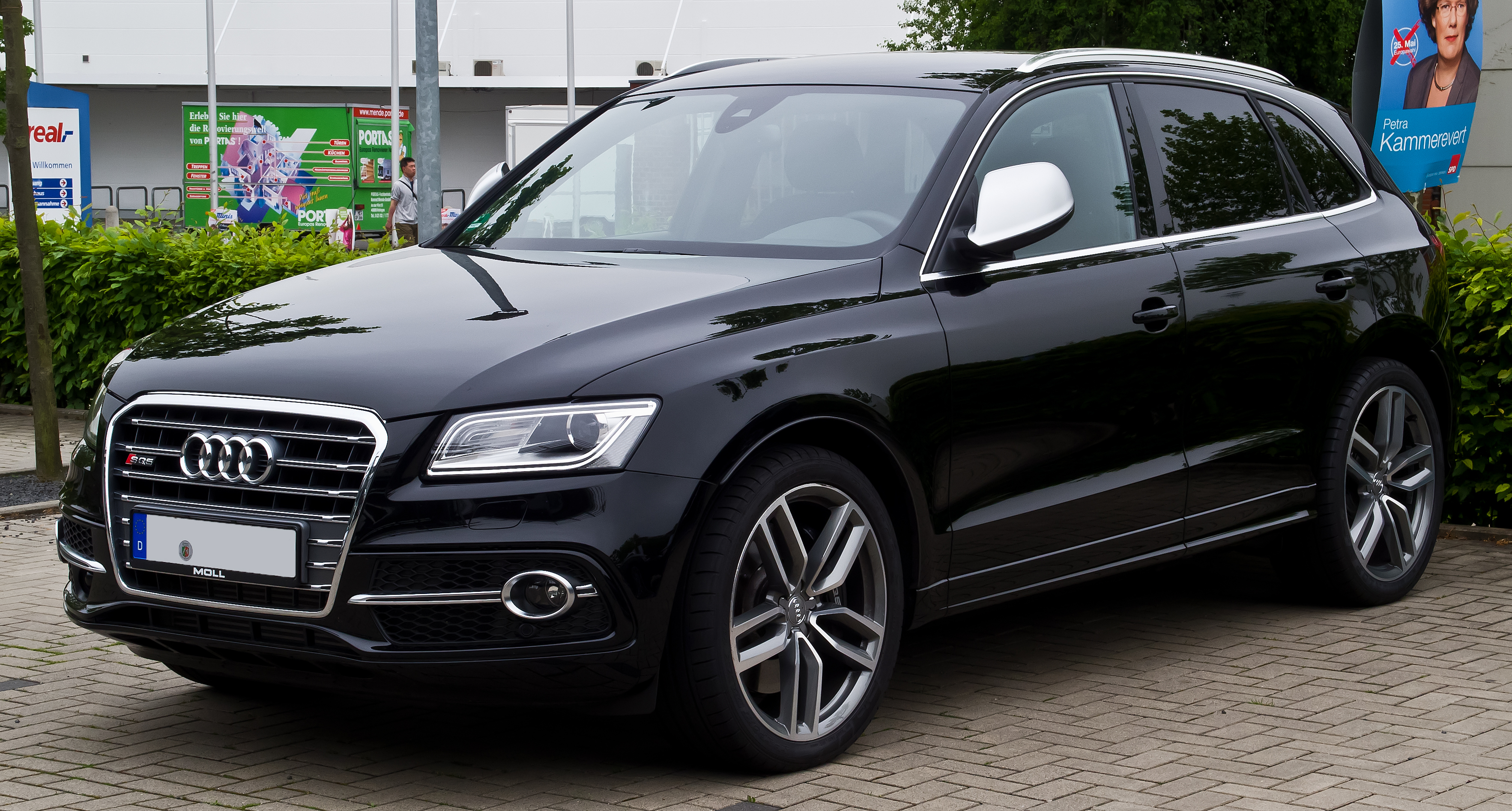 file audi sq5 tdi facelift frontansicht 27 april 2014 d wikimedia commons. Black Bedroom Furniture Sets. Home Design Ideas