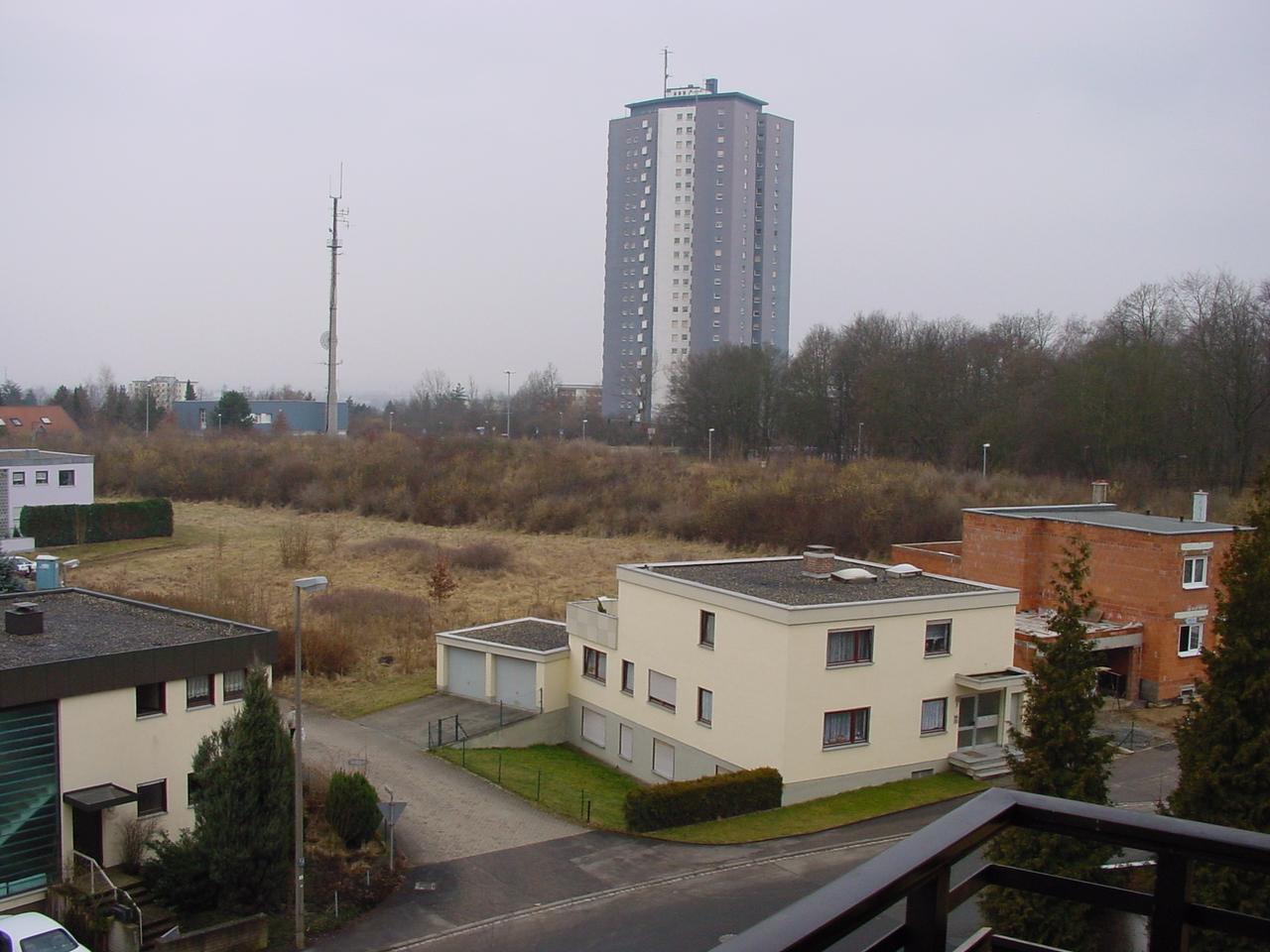 Datei Aussicht Vom Balkon Kreuzbergstr 2 Schweinfurt Panoramio
