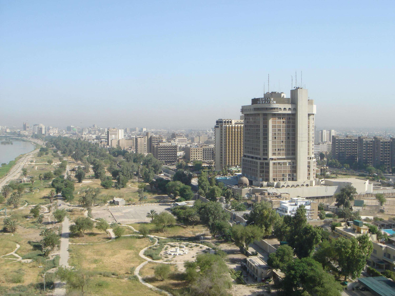 التعريف بالعراق كبلد سياحي المعلومات Baghdad_Red_zone.jpg