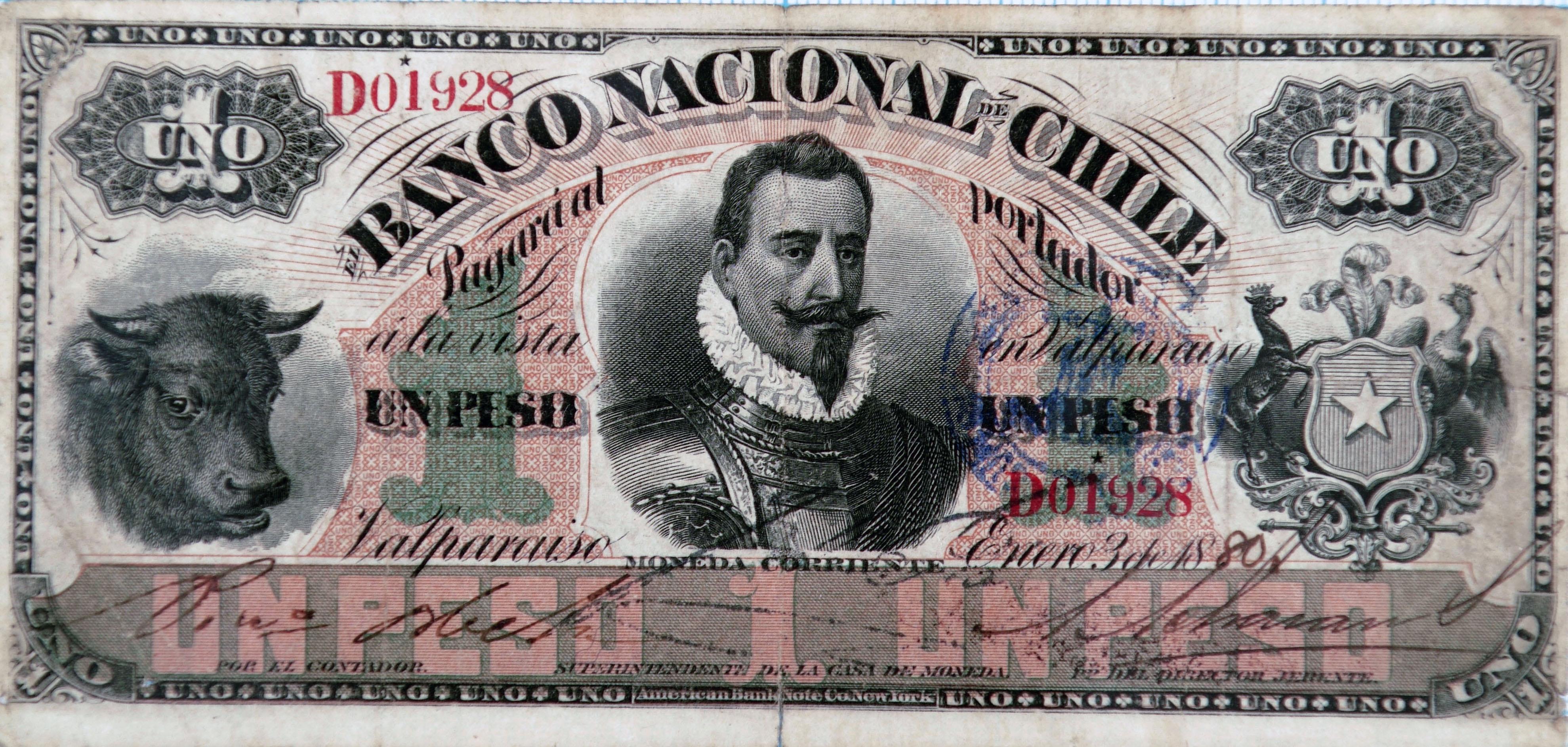 Dollars to Chilean Pesos