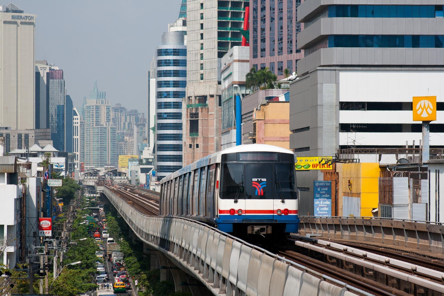 BTS Bangkok: Sistem Transportasi Umum Skytrain