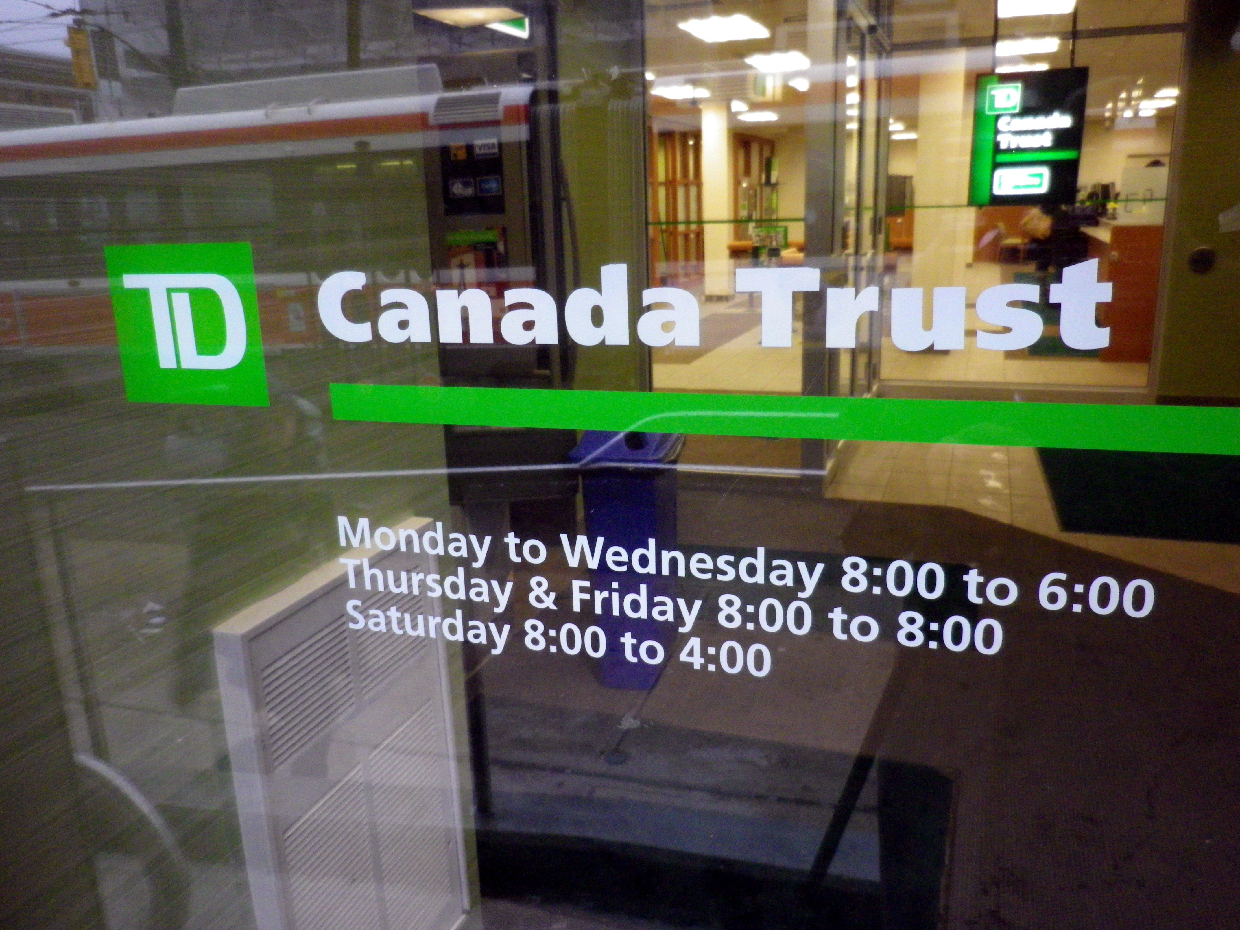Td Canada Branch Kitchener