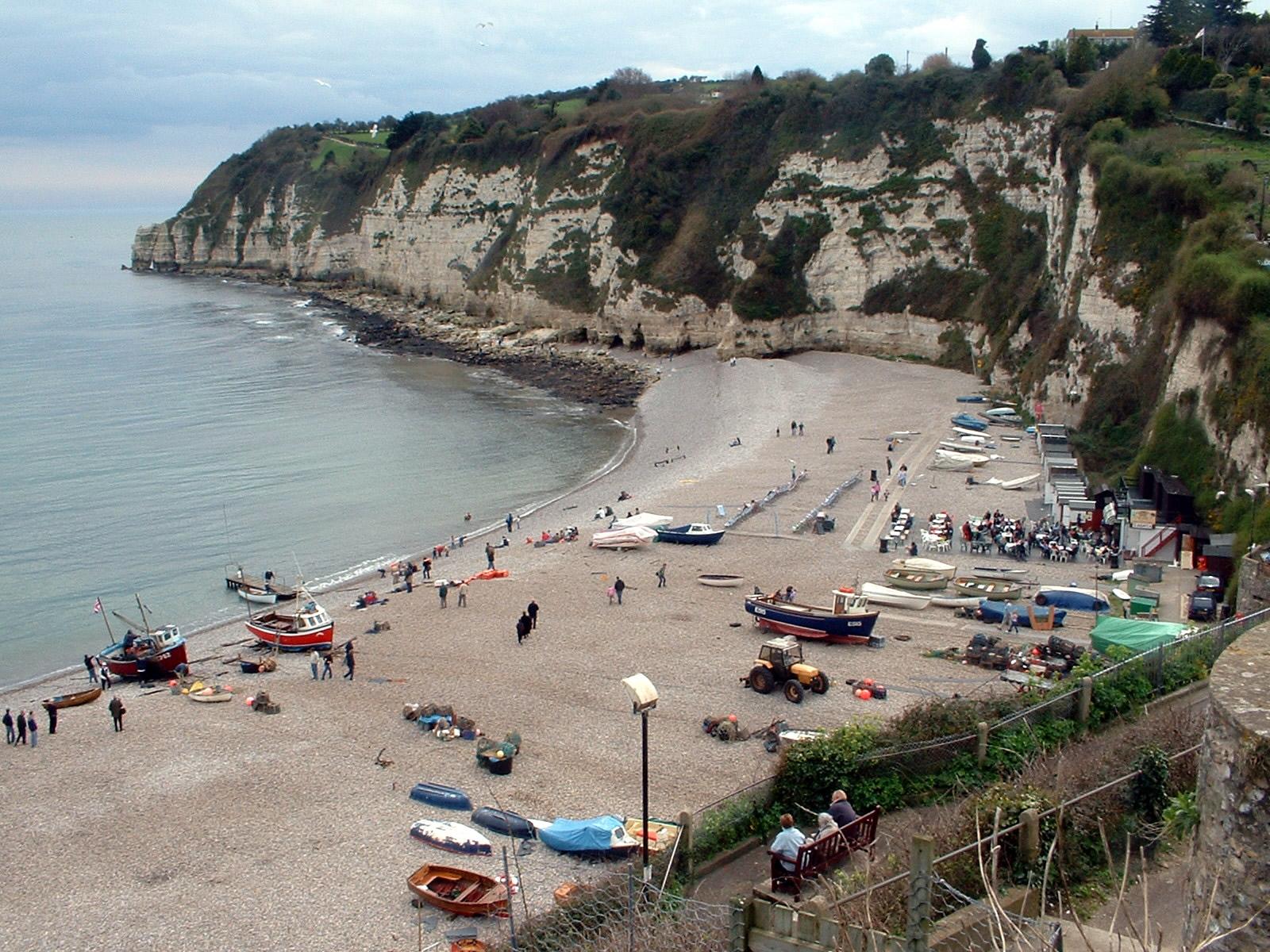 File Beach At Beer Devon Jpg