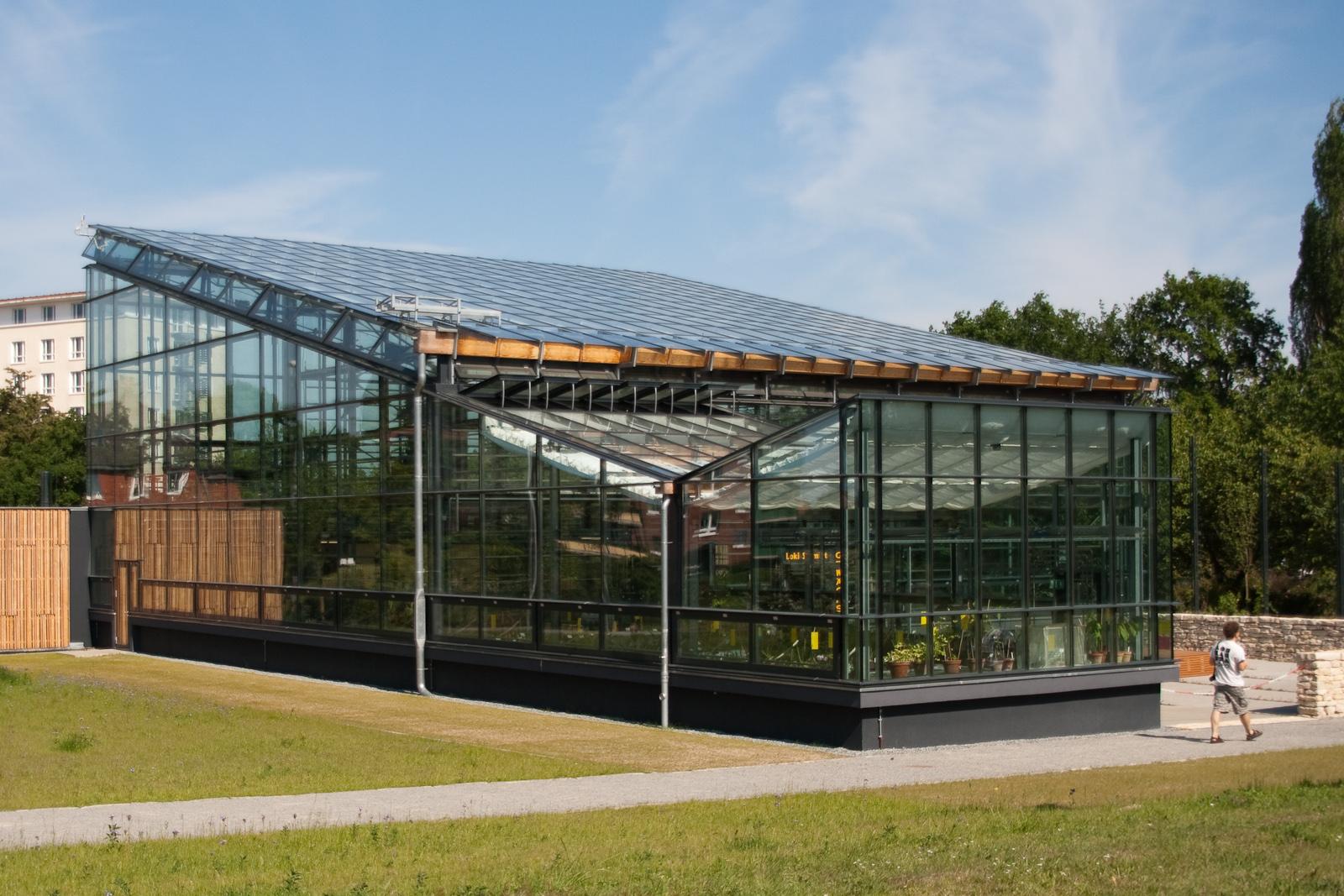Garten Rostock file botanischer garten rostock loki schmidt gewächshaus rückseite