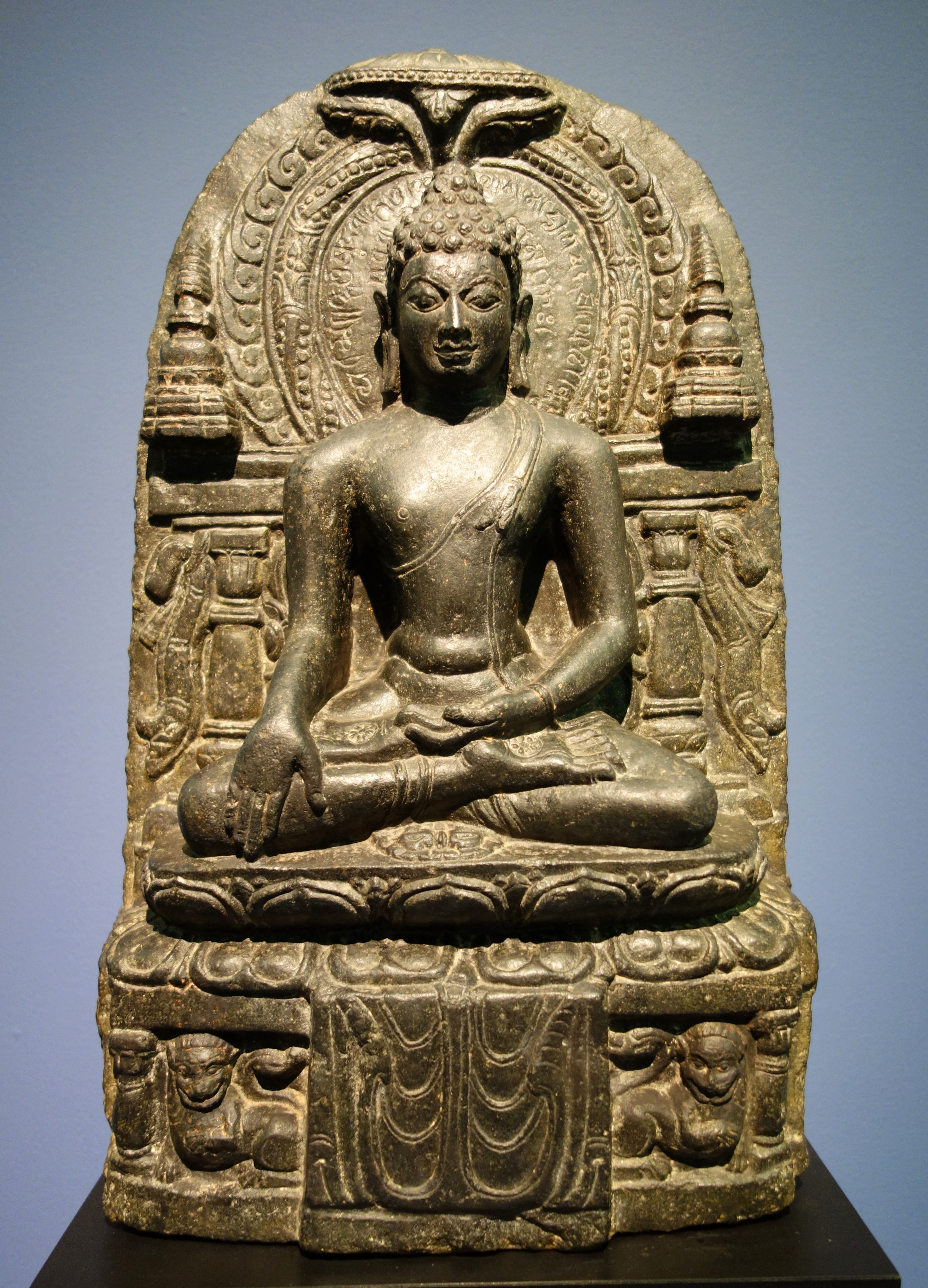 Birth Place Of Buddhism Bihar India: File:Buddha Akshobya Stele, India, Possibly Bihar, 9th
