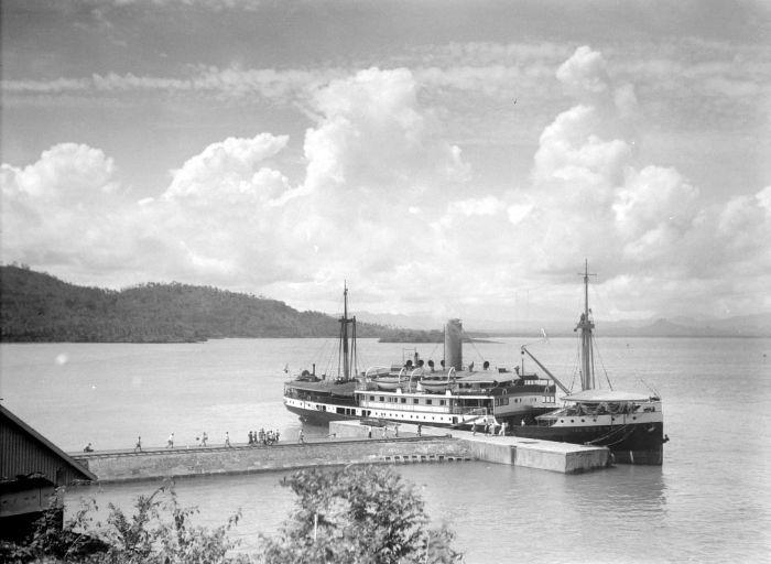 Pelabuhan Merak pada 1932