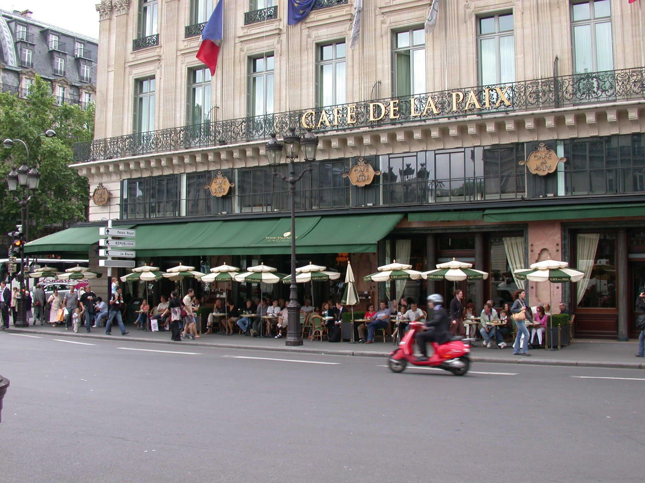 Hotel Cafe Restaurant Nombre Avantages Nourriture