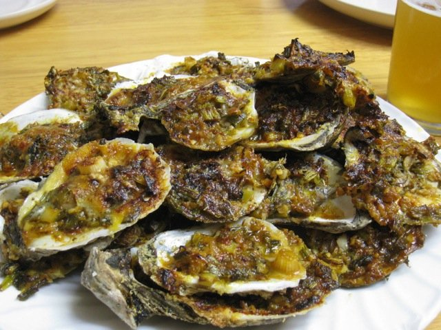 Grilled Oysters Recipe — Dishmaps
